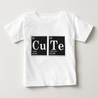 Elementos periódicos del CU TE Camiseta De Bebé