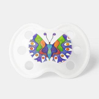 Elenissina - mariposa colorida chupete