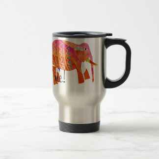 Elephants Taza De Viaje