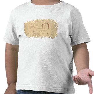 Elevaciones para la casa roja brezo de Bexley en Camisetas