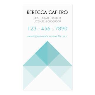 Eleve las tarjetas de visita adaptables de los