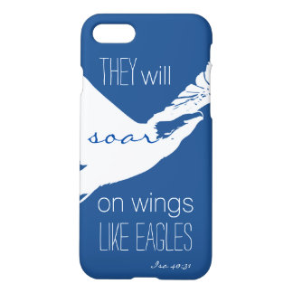 Elévese como el caso del iPhone 7 de Eagles Funda Para iPhone 7