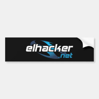 elhacker.net pegatina para coche