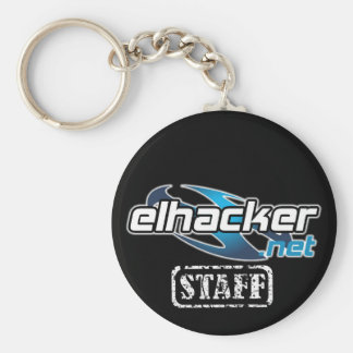 elhacker.net STAFF Llavero Redondo Tipo Chapa