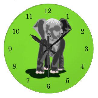 Eli +1 - Reloj de pared (grande) redondo