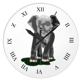 Eli 1 - Reloj de pared (grande) redondo