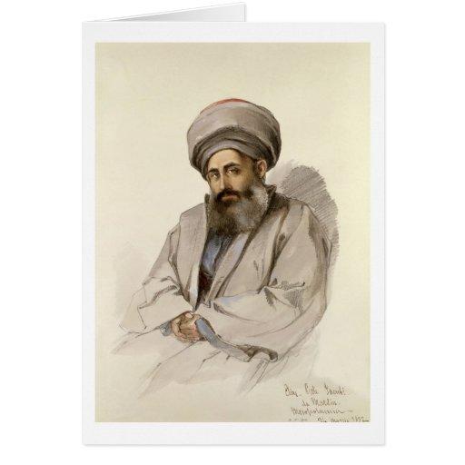 Elias - sacerdote de Jacobite de Mesopotamia Tarjeton