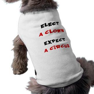 Elija a un payaso cuentan con un circo