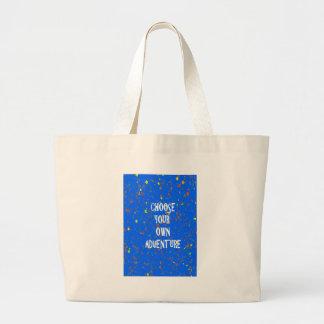 Elija el año poseen la aventura - tipografía de la bolsas