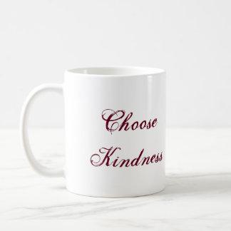 Elija la taza de la amabilidad
