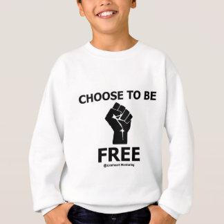 Elija ser camiseta libre