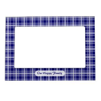 Elija su marco magnético de la tela escocesa acoge marcos magnéticos para fotos