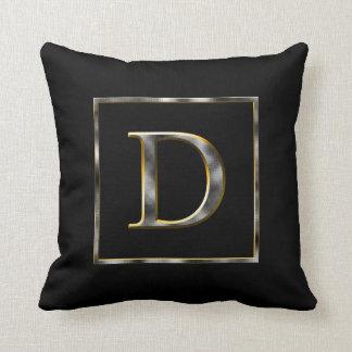 Elija su propia almohada de la inicial del metal