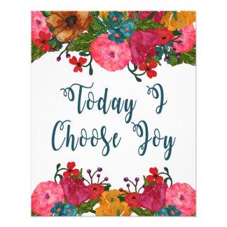 Elijo hoy cita inspirada de la alegría el | foto