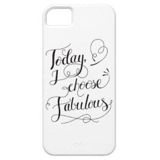 Elijo hoy la caja fabulosa del teléfono iPhone 5 Case-Mate cárcasas