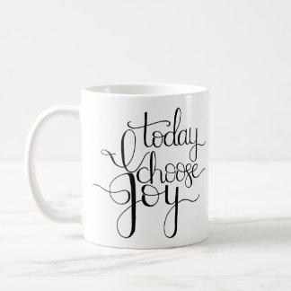 Elijo hoy la taza de café de la alegría