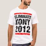 Elimine Kony 2012 Camiseta