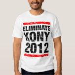 Elimine Kony 2012 Camisetas