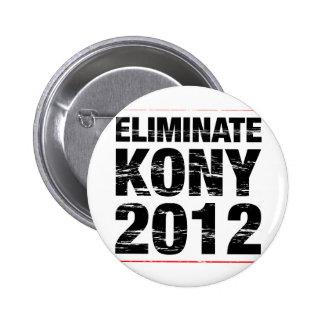 Elimine Kony 2012 Chapa Redonda 5 Cm