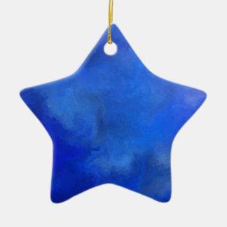 Elissima V1 - criatura subacuática Adorno Navideño De Cerámica En Forma De Estrella