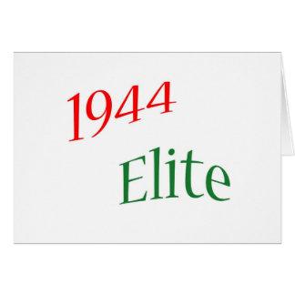 Élite 1944 tarjeta de felicitación