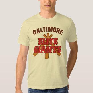 Élite Giants de Baltimore Camisetas