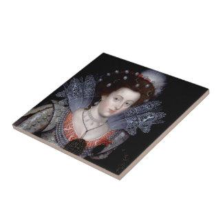 Elizabeth, reina del invierno de Bohemia Azulejo De Cerámica