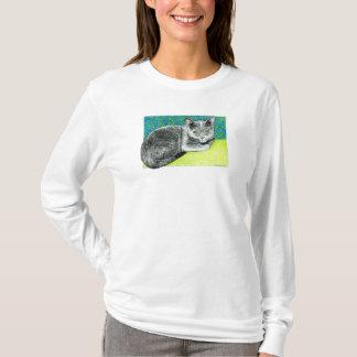 Elle la camiseta del gato de Korat