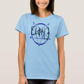 Elm13 satánico y orgulloso - hembra camiseta