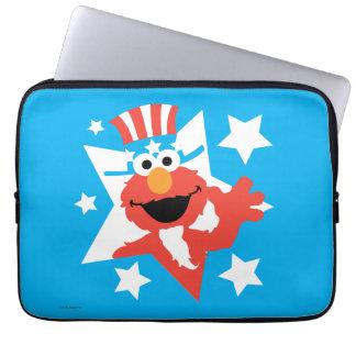 Elmo como tío Sam Funda Para Portátil