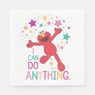 Elmo el | puedo hacer cualquier cosa servilleta de papel