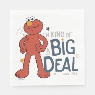 Elmo el | soy un poco una gran cosa servilleta desechable