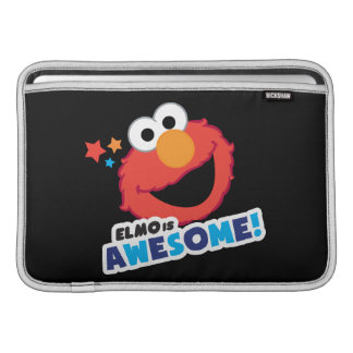Elmo impresionante funda para macbook air