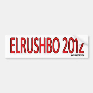 ElRushBo 2012 Pegatina Para Coche