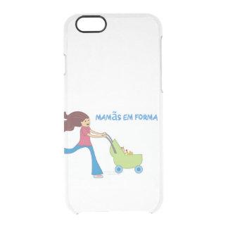 Em Forma del iPhone 6/6S Mamãs de Capa para Funda Transparente Para iPhone 6/6S