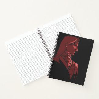 "Embajador Lisinthir 8,5"" x 11"" cuaderno"