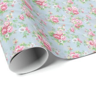 Embalaje floral Papel-Brillante Papel De Regalo