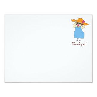 Embarazada y fabuloso gracias Notecards Comunicados