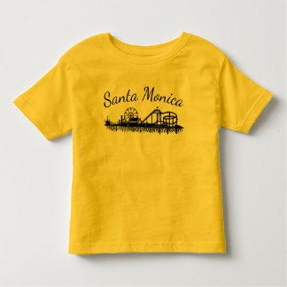 Embarcadero de California Santa Mónica CA Camiseta De Bebé