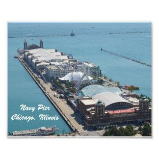 Embarcadero de la marina de guerra, Chicago Fotos