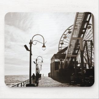 Embarcadero de Santa Mónica Alfombrilla De Ratón