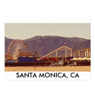Embarcadero de Santa Mónica - postal