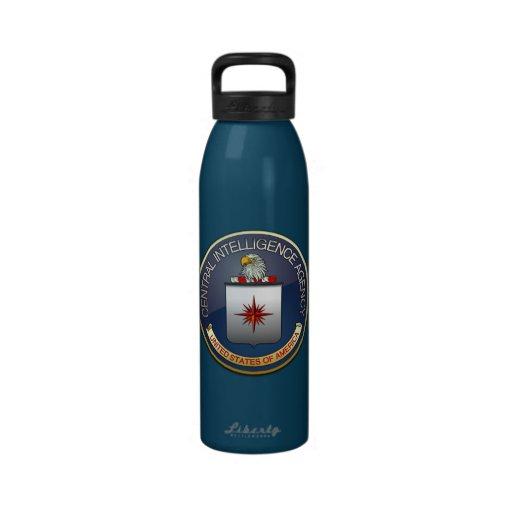 Emblema (CIA) de la CIA Botellas De Agua Reutilizables