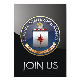 Emblema (CIA) de la CIA Invitación 12,7 X 17,8 Cm