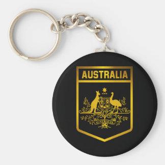 Emblema de Australia Llavero