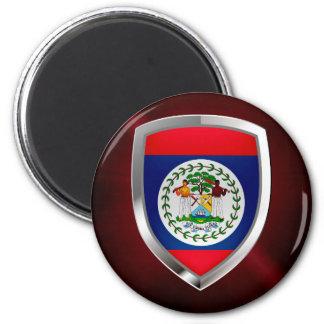 Emblema de Belice Mettalic Imán