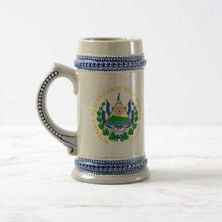 emblema de El Salvador Tazas