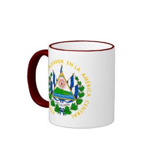 emblema de El Salvador Taza De Dos Colores
