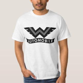 Emblema del automóvil del vagabundo camisetas