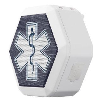 Emblema del blanco del paramédico EMT el ccsme Altavoz Con Bluetooth